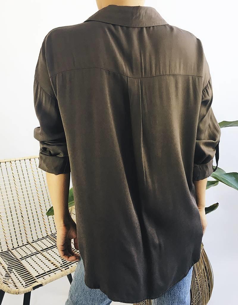 Classic Safari Shirt - Charcoal