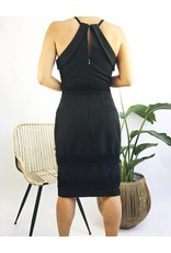 Halter Neck Mid-Length Dress