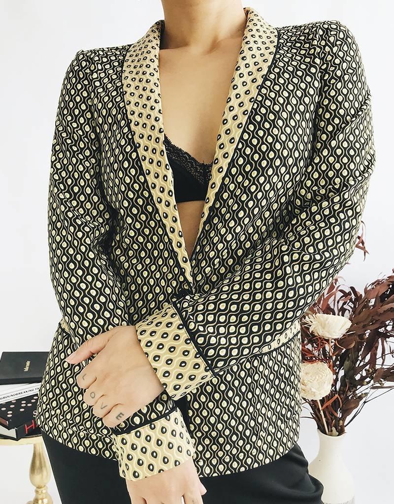 Blazer pyjama imprimé
