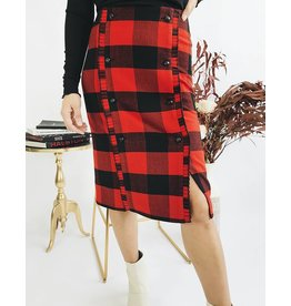 Lumberjack Check Skirt