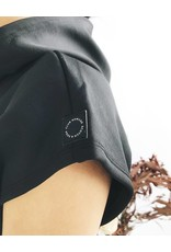 Sweat-shirt à capuche sans manches avec taille à nouer  Club Nomade