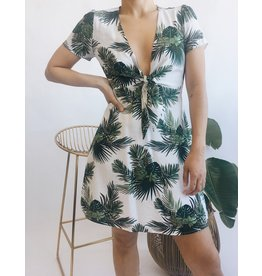 Tropical Print Short Dress