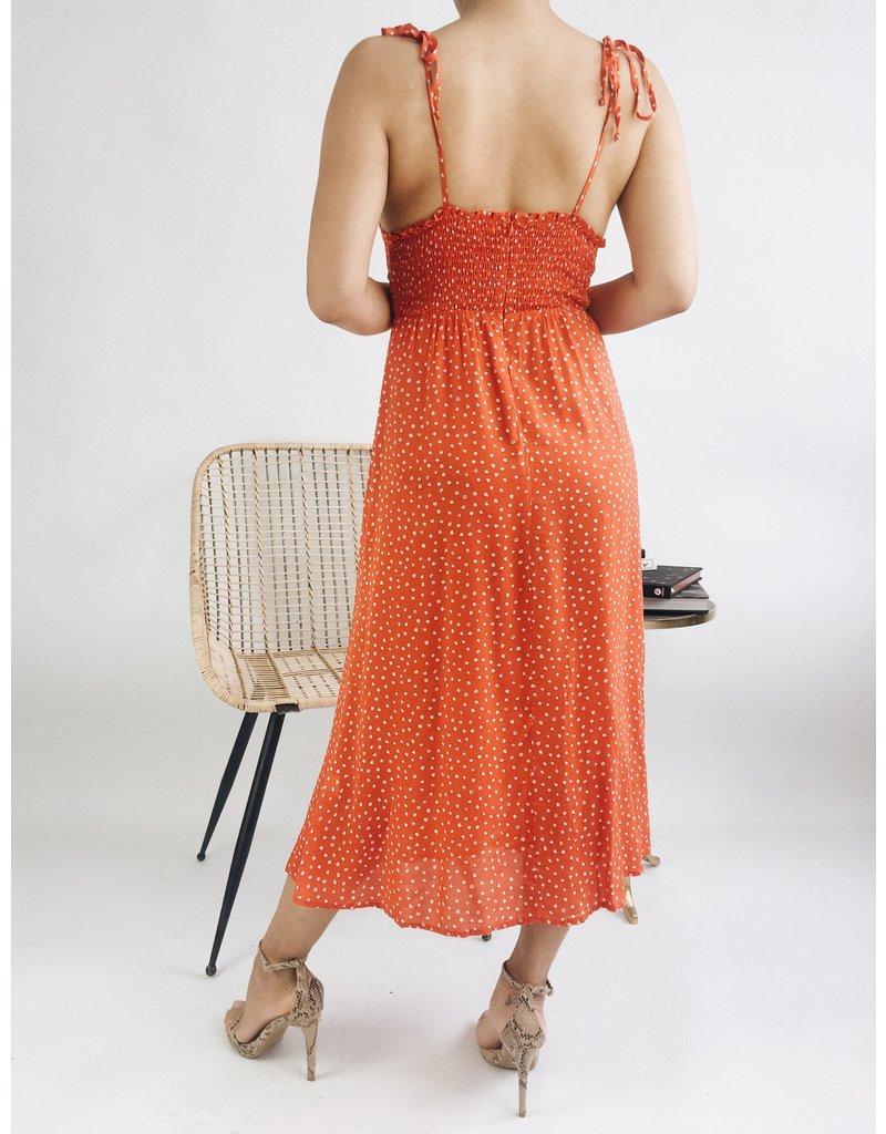 Carmela Dress - Red