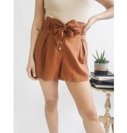 Shorts Stella - Cocoa