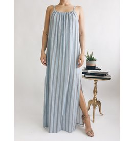 Kelly Maxi Dress - Blue