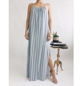 Robe Longue Kelly - Bleu