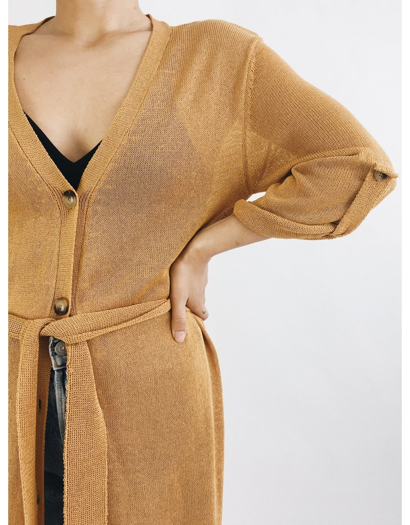 Hadley Cover Up - Camel