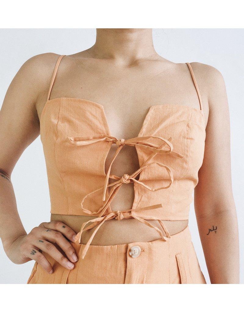 Camisole Ada - Orange Poudre