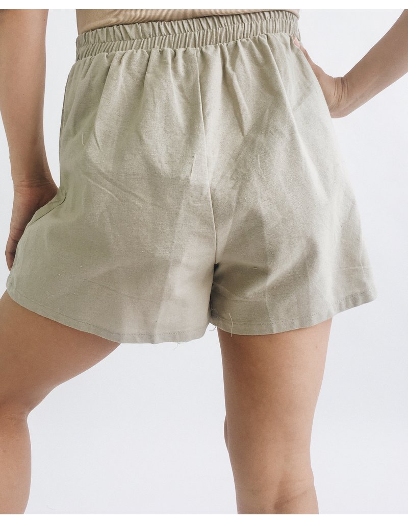 Paris Shorts - Olive