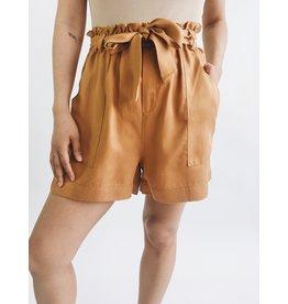 Mira Shorts - Camel