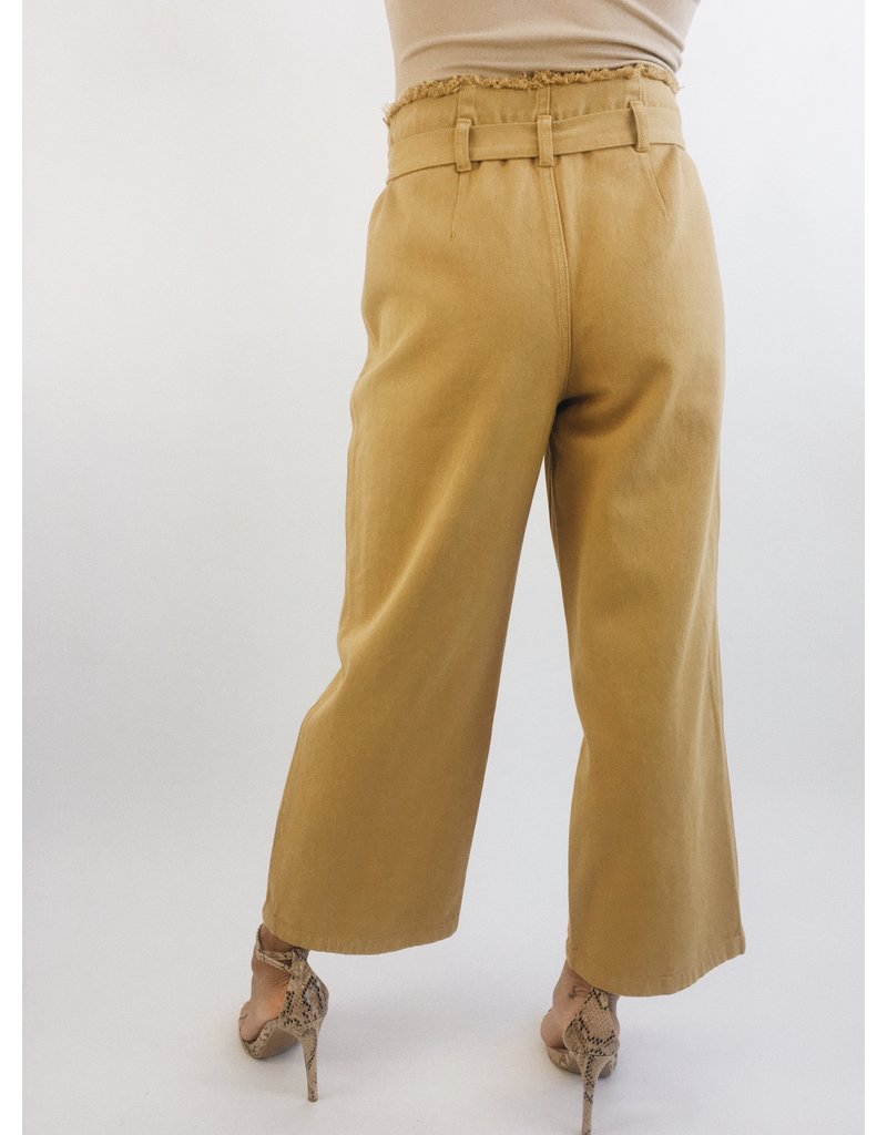 Teagan Pants - Mustard