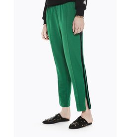 Tailored Pants with Velvet Side Stripe
