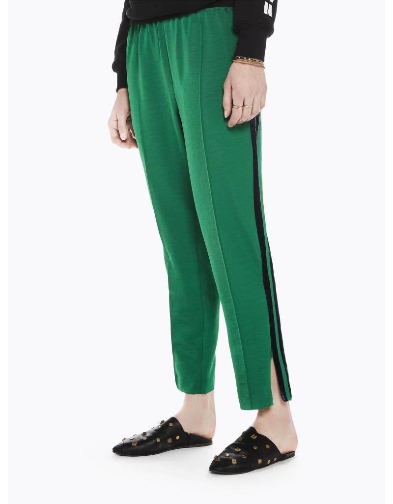 Tailored Pants with Velvet Side Stripe