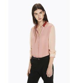 Colour Block Drapey Shirt