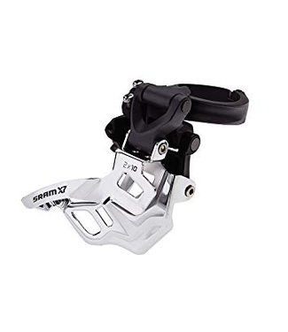SRAM SRAM FRONT DERAILLEUR X7 2X10 HIGH CLAMP 318/349 TOP PULL