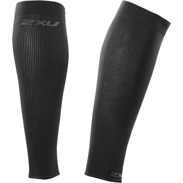 2XU 2XU UNISEX PERFORMANCE RUN SLEEVE BLK/BLK L
