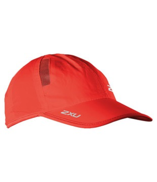 2XU RUN CAP NEON RED/NEON RED