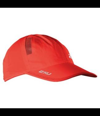 2XU RUN CAP NEON RED/NEON RED