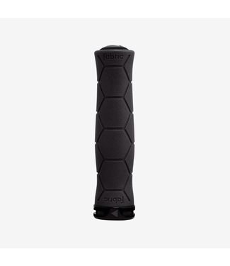 FABRIC FABRIC SEMI ERGO LOCK ON GRIPS BK