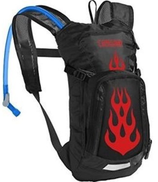 CAMELBAK CAMELBAK MINI M.U.L.E. 50 OZ BLACK/FLAMES