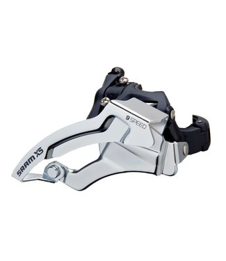 SRAM SRAM FRONT DERAILLEUR X5 3X9 LOW CLAMP 318/349 BLK DUAL PULL