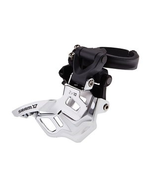 SRAM SRAM FRONT DERAILLEUR X7 2X10 HIGH CLAMP 318/349 BOTTOM PULL