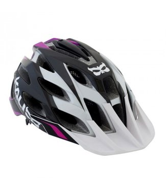 KALI KALI PROTECTIVES AMARA HELMET W. CAMERA & LIGHT MOUNT WHT/PNK S/M