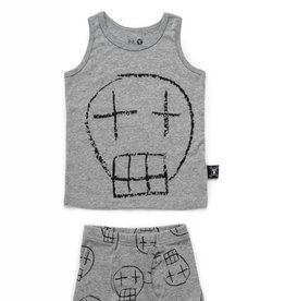 NUNUNU Nununu - Boys Sketch Skull Underwear Set