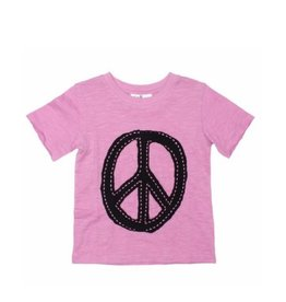 Joah Love - Hand Stitch Peace Sign Tee