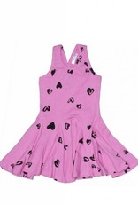 Joah Love - Jersey Heart Print Dress