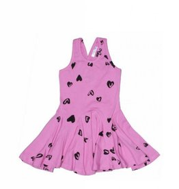 Joah Love - Jersey Heart Print Dress