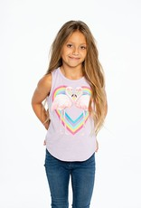 Chaser Chaser - Shirttail Muscle - Flamingo Luv