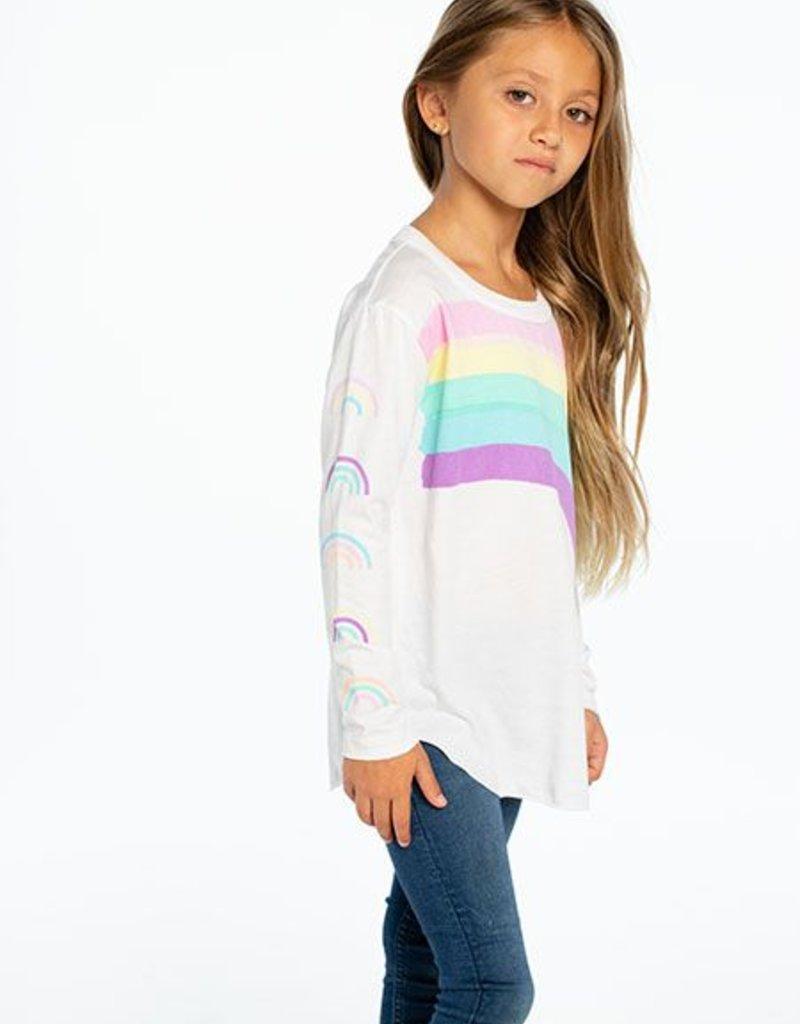 Chaser Chaser - LS Shirttail - Rainbows