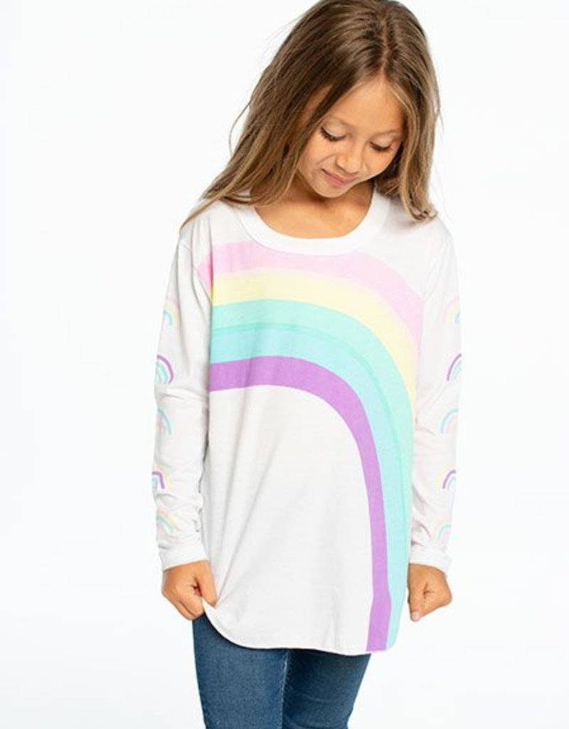 Chaser - LS Shirttail - Rainbows