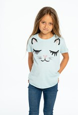 Chaser Chaser - SS Shirttail - Rainbow Kitty
