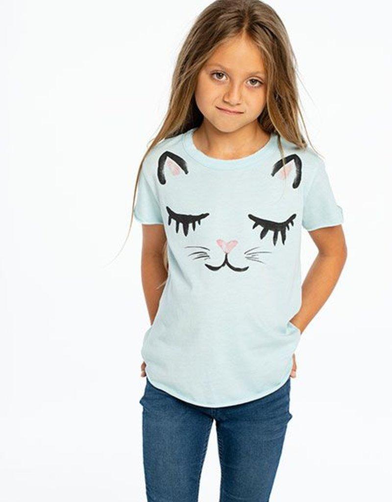 Chaser - SS Shirttail - Rainbow Kitty