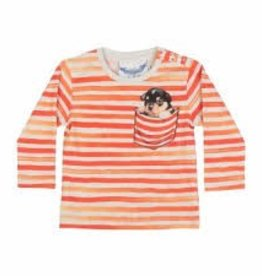 Paper Wings Paper Wings - L/S T-Shirt - Pocket Puppy