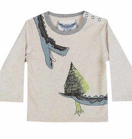 Paper Wings Paper Wings - L/S T-Shirt - Light Snack
