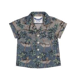 Paper Wings Paper Wings - Shirt Jungle Rhino