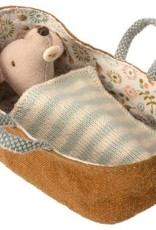 Maileg Maileg - Baby Mouse In Carrycot