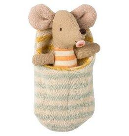 Maileg Maileg - Baby Mouse in Sleeping Bag