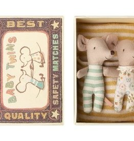 Maileg Maileg - Baby Twins, Mice in Box