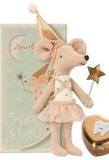 Maileg Maileg - Girl Tooth Fairy Mouse in Box