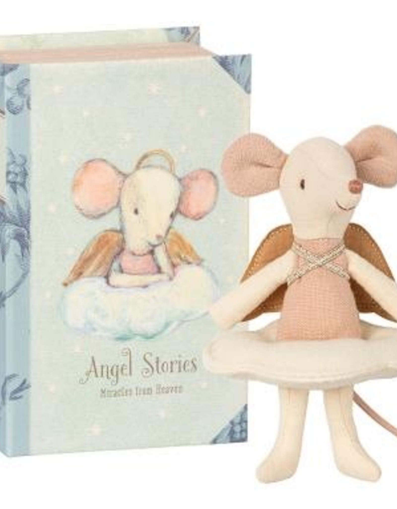 Maileg Maileg - Big Sister Angel Mouse in Book