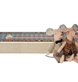 Maileg Maileg - Grandpa & Grandma Mice in Matchbox