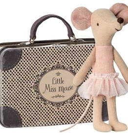 Maileg Maileg - Big Sister Ballerina Mouse in Suitcase