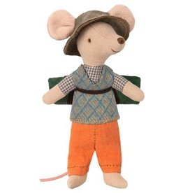 Maileg Maileg - Big Brother Hiking Mouse