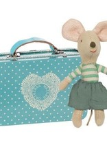 Maileg Maileg - Little Brother Mouse In Suitcase