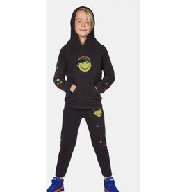 Lauren Moshi Kids Lauren Moshi - Mouse Rainbow Happy Face Sweatpants