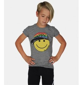 Lauren Moshi Kids Lauren Moshi - Piglet Rainbow Happy Hat Face S/S Tee